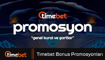 Timebet Bonuslar